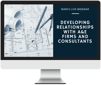 March 2018 - Developing Relationships with A&E Firms and Consultants course image