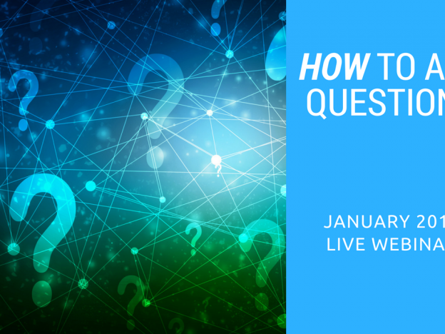 January 2018 - How to Ask Questions course image