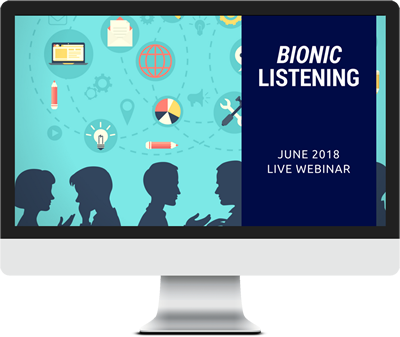 June 2018 – Bionic Listening course image
