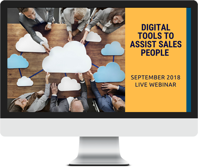 September 2018 – Digital Tools to Assist Sales People course image