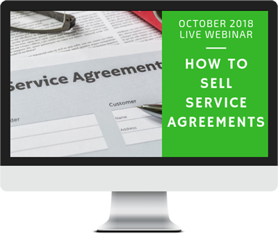 October 2018 – How to Sell Service Agreements course image