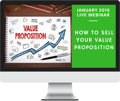 January 2019 – How  to Sell Your Value Proposition course image