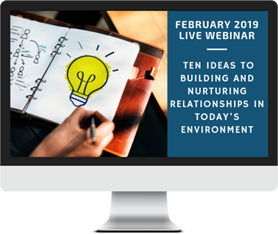 February 2019 – Ten Ideas to Building and Nurturing Relationships in Today's Environment course image