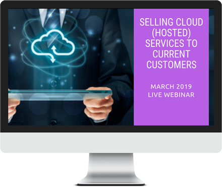 March 2019 – Selling Cloud (Hosted) Services course image
