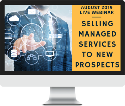 August 2019 – Selling Managed Services to New Prospects course image