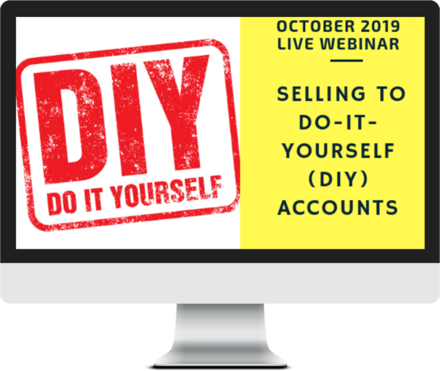 October 2019 – Selling to the DIY Customer course image