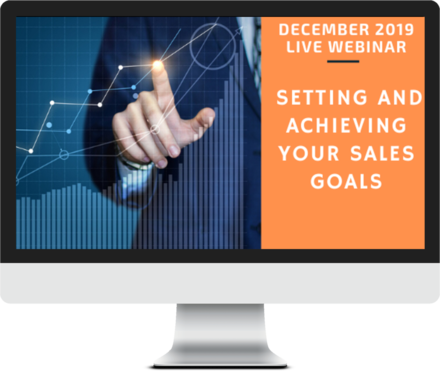 December 2019 – Setting and Achieving Sales Goals course image