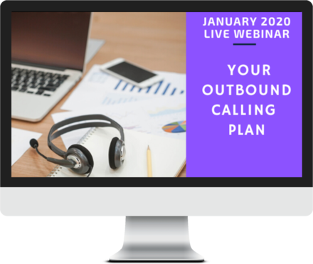 Janaury 2020 – Your Outbound Calling Plan course image