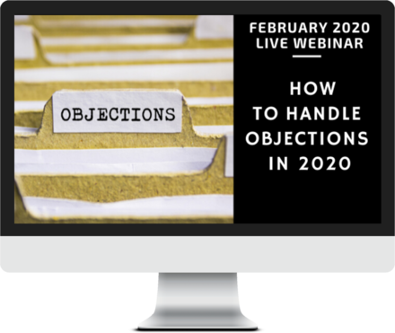 February 2020 – How to Handle Objections course image