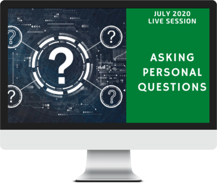 July 2020 – Asking Personal Questions course image