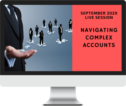 September 2020 – Navigating Complex Accounts course image